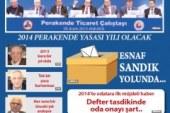 2014 OCAK AYI İSTANBUL ESNAF DERGİSİ