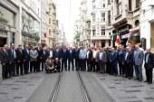 BEYOĞLU'NDAKİ ESNAF ODALARI BİR ARAYA GELDİ